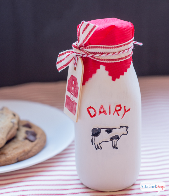 Santa's Milk & Cookies Handmade Candle