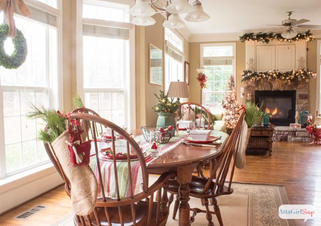 2014 Christmas Home Decor and Tour at AttaGirlSays.com