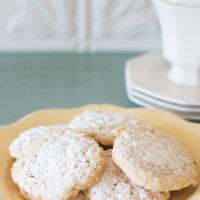 Lemon Oatmeal Lacies Cookies