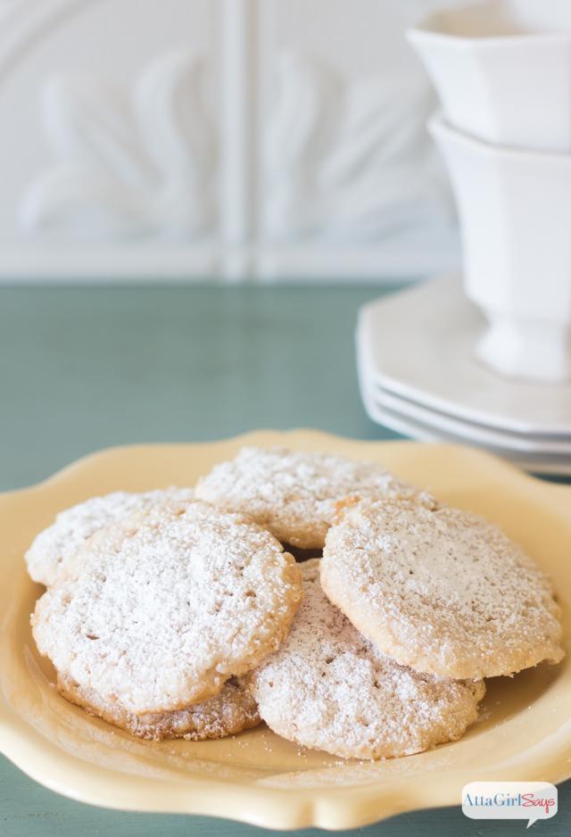 Lemon Oatmeal Lacies Christmas Cookie Recipe