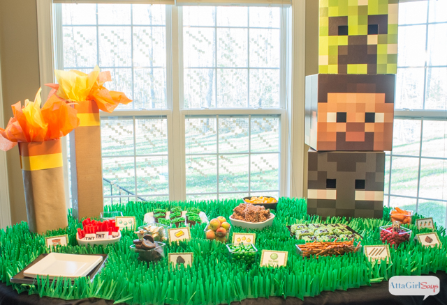 photograph about Minecraft Party Ideas Printable identify Minecraft Get together Guidelines For An Epic Gamer Birthday