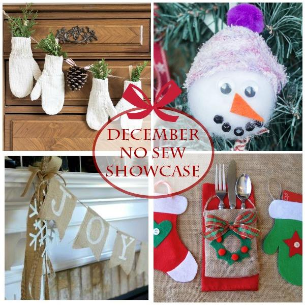 No-Sew Christmas Projects