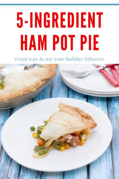 Leftover Ham Pot Pie