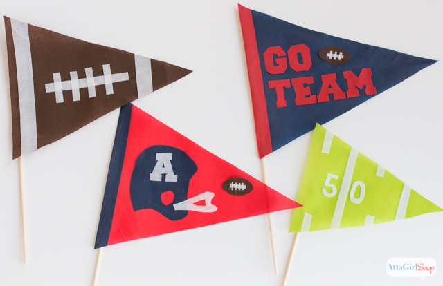 looking for some easy do it yourself super bowl party decorations these - Super Bowl Party Decorations