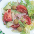 Seriously...the best salad ever - a make-at-home version of the world famous Columbia Restaurant 1905 Salad. It is a garlic and olive lover's delight. and so easy to make.