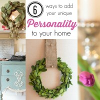 Six Ways to Decorate with Personality