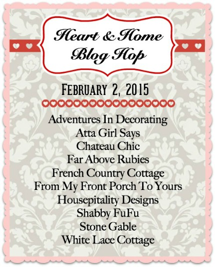Heart & Home Blog Hop