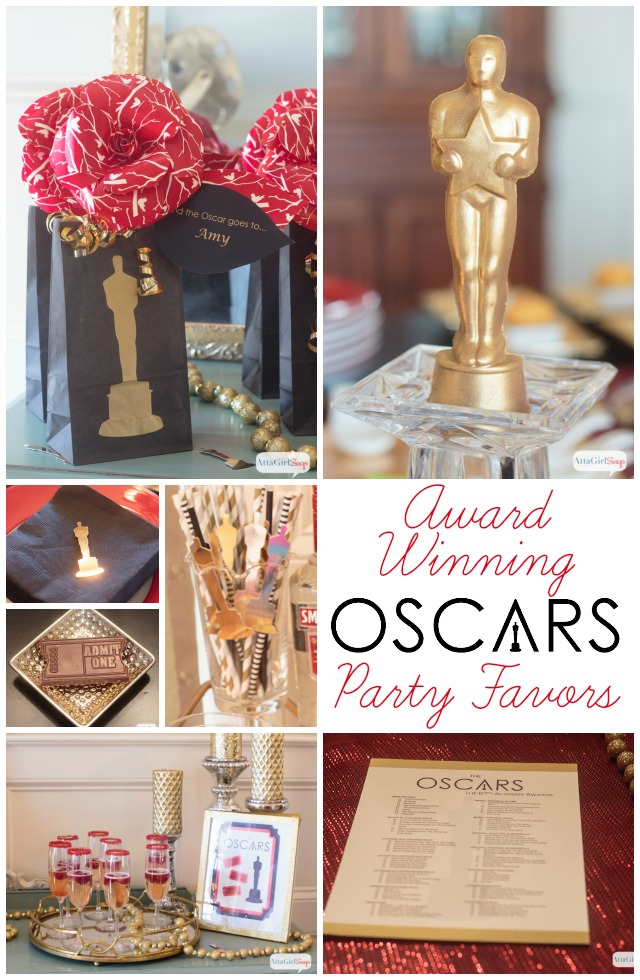 Award winning oscars party favors decor atta girl says for Awards decoration