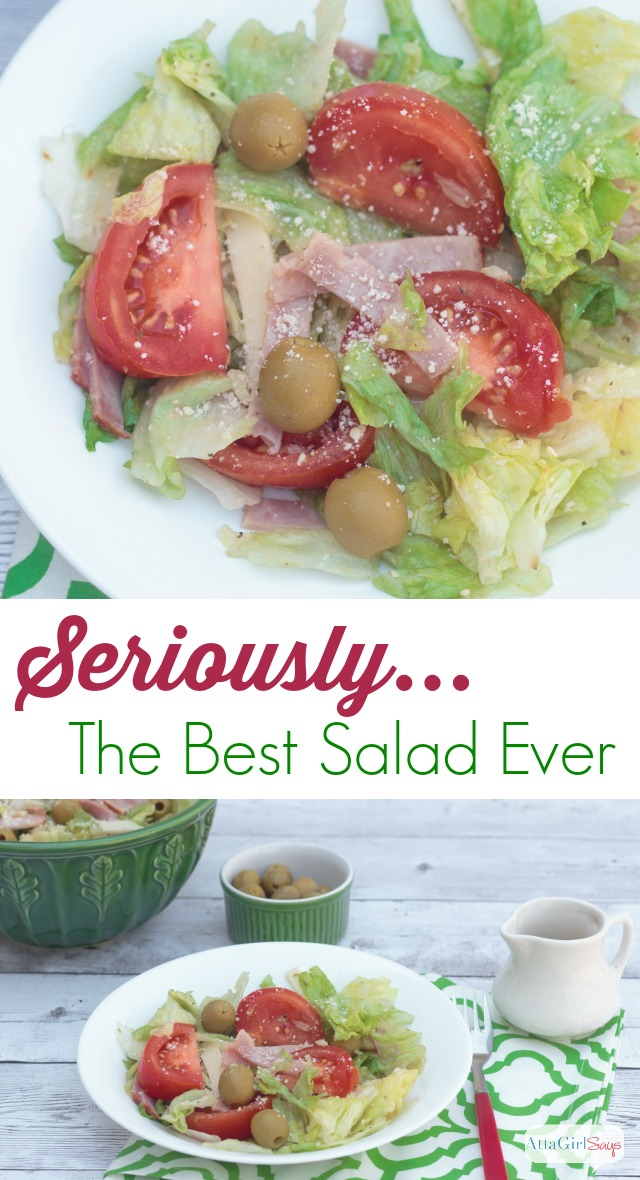 Seriously The Best Salad Recipe Ever Atta Girl Says