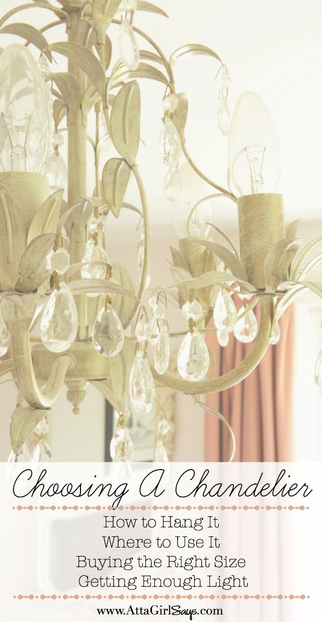 A By-the-Numbers Guide to Choosing a Chandelier For Every Space ...