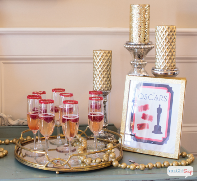 Oscar Themed Party Decoration Ideas Part - 43: Celebrate Like The Stars With These Oscar Party Ideas Featuring Food And  Decor From World Market