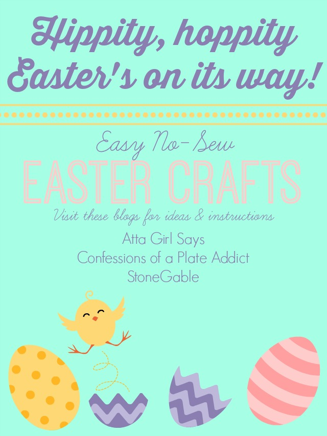Easy to Make Easter No-Sew Craft Projects