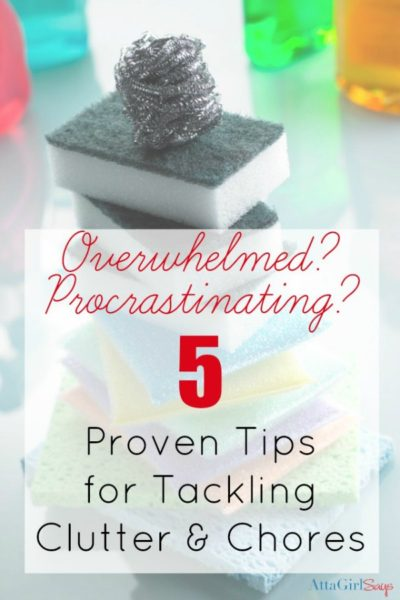 5 House Cleaning Tips When You're Overwhelmed