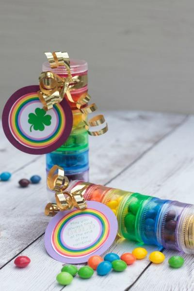 St. Patrick's Day Rainbow Candy Treat