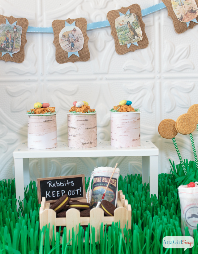 Peter Rabbit Inspired Easter Party Ideas #SnackPackMixIns #CollectiveBias #ad