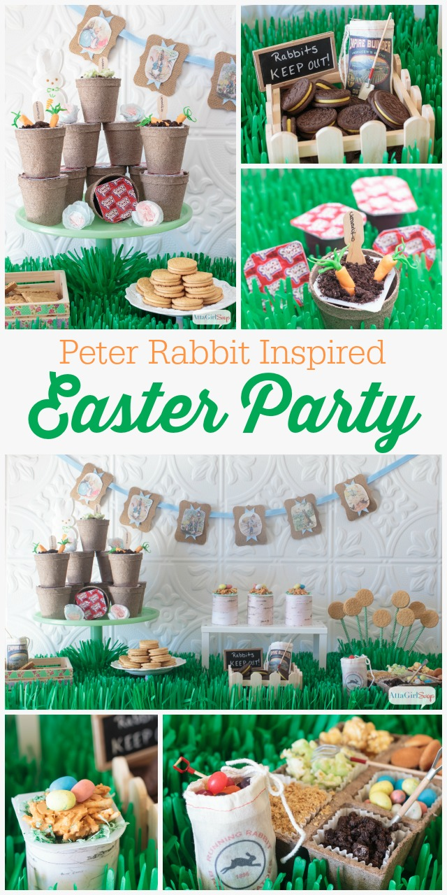 Peter Rabbit Inspired Easter Party Ideas
