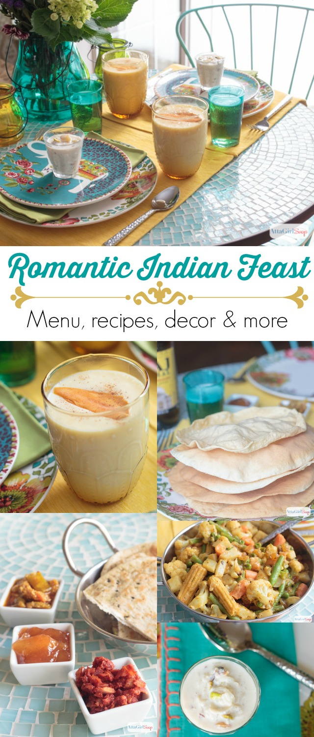 Romantic indian dinner for two atta girl says plan a romantic night in with these dinner for two recipes inspired by the flavors of forumfinder Images