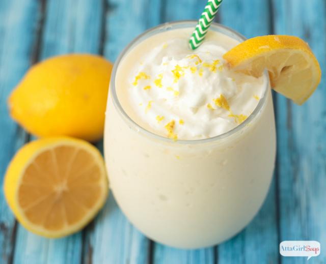 frozen frosted lemonade Chick Fil A copycat