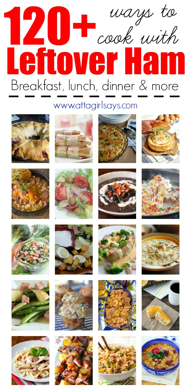 120 recipes for leftover ham atta girl says the ultimate list of recipes for leftover ham breakfast lunch dinner appetizers forumfinder Image collections