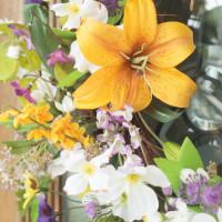Spring Flowers Grapevine Wreath