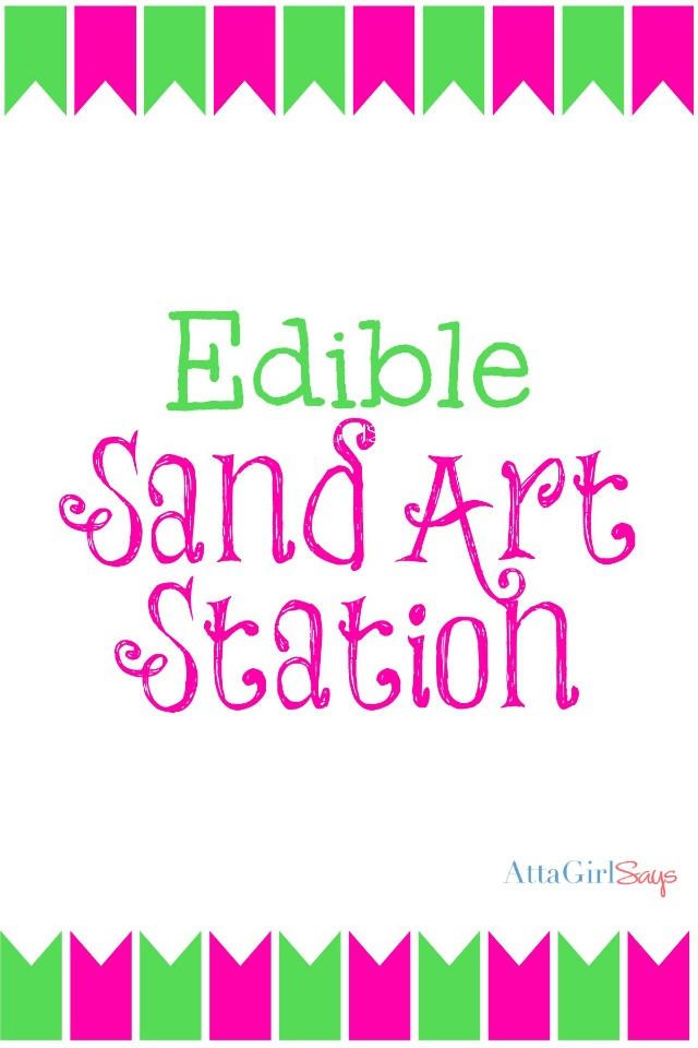Edible Sand Art Printable