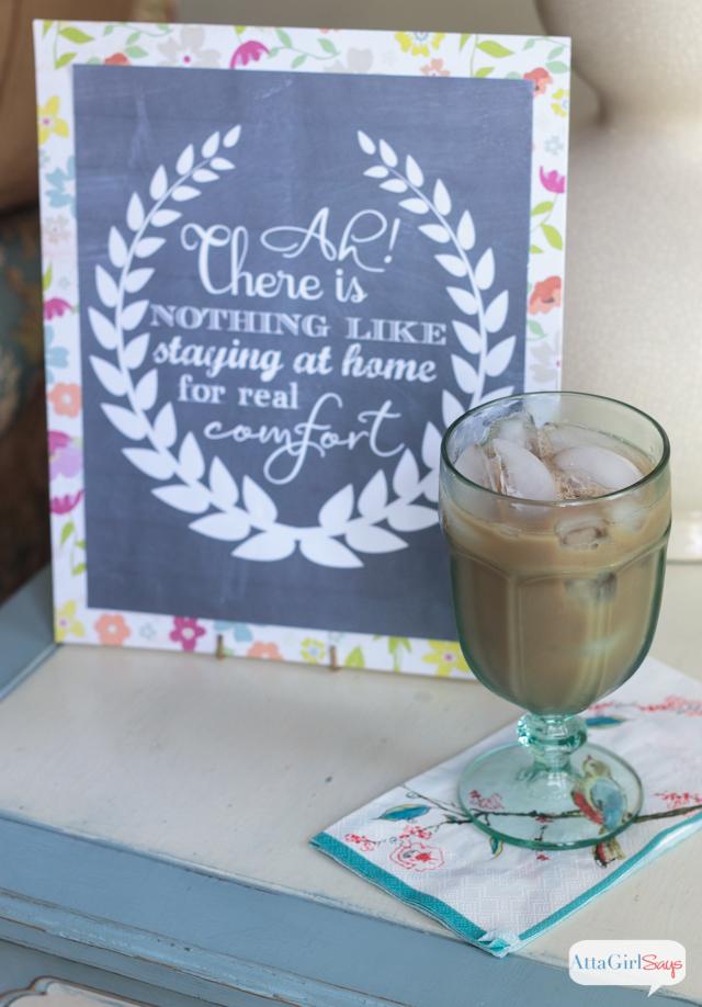 Jane Austen Quote Chalkboard Sign
