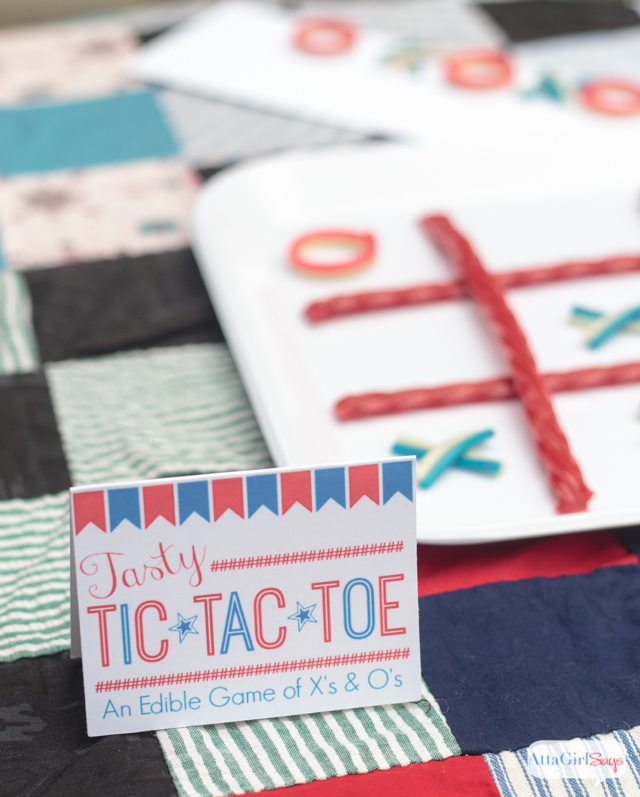 Tasty Tic Tac Toe Party Favors for Kids