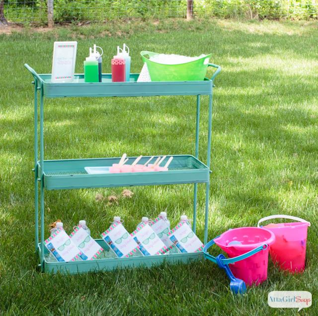 Backyard beach party ideas atta girl says for Backyard beach ideas