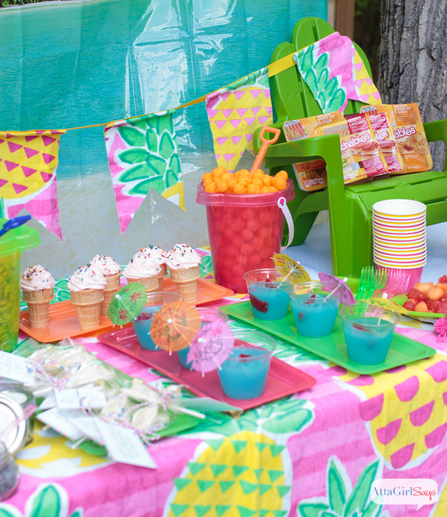 Kids Party Craft Ideas Part - 50: Celebrate Summer With These Backyard Beach Party Ideas. Click For Recipes,  Crafts, Decorations