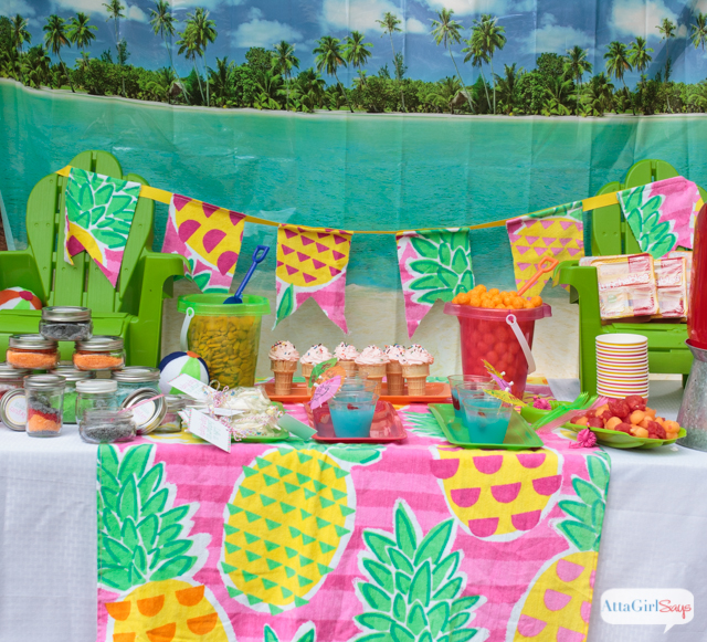 Celebrate summer with these backyard beach party ideas. Click for recipes crafts decorations & Beach Party Ideas for the Backyard: Kids will love these!