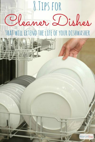 8 Tips For Cleaner Dishes & Extending the Life of Your Dishwasher