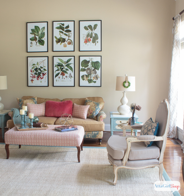 Decorating Idea Living Room: Vintage Meets Modern Living Room Decorating Ideas