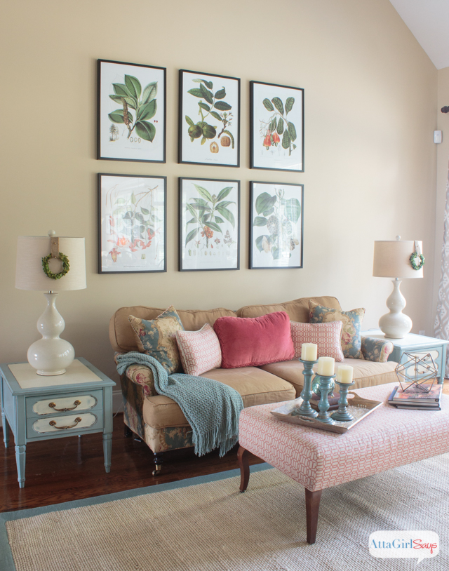What A Gorgeous Space! I Love The Vibrant Colors, The Mix Of Vintage And