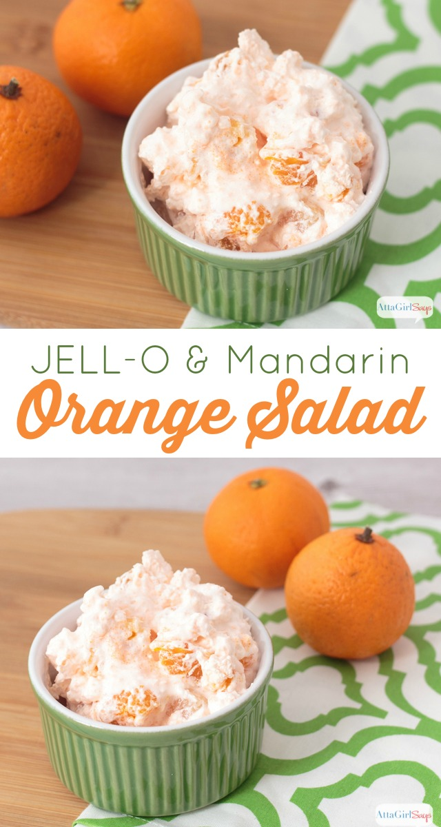 JELL-O Mandarin Orange Salad