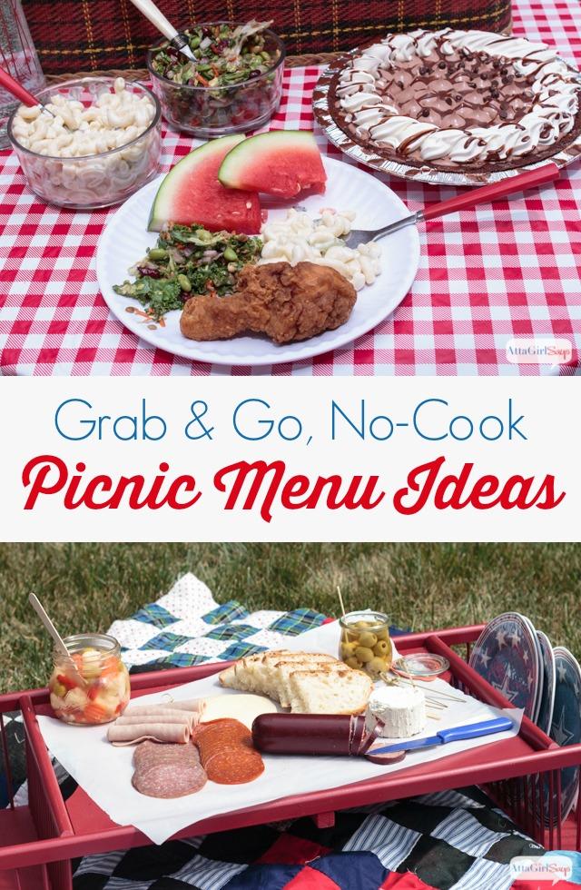 No Cook Picnic Food Ideas Atta Girl Says