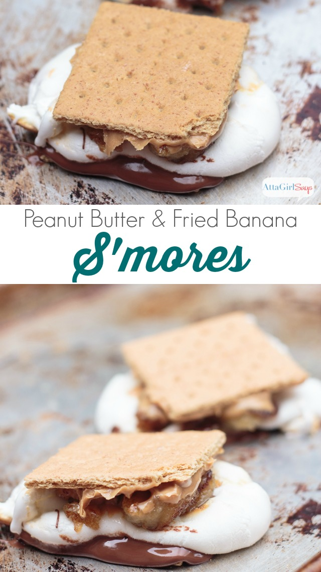 "Famously, Elvis Presley loved fried peanut butter and banana sandwiches. This s'mores recipe would make the King of rock n' roll shimmy and shake! Toast up one of these, and you'll say, ""Thankyouverymuch."" #HersheysSummer"