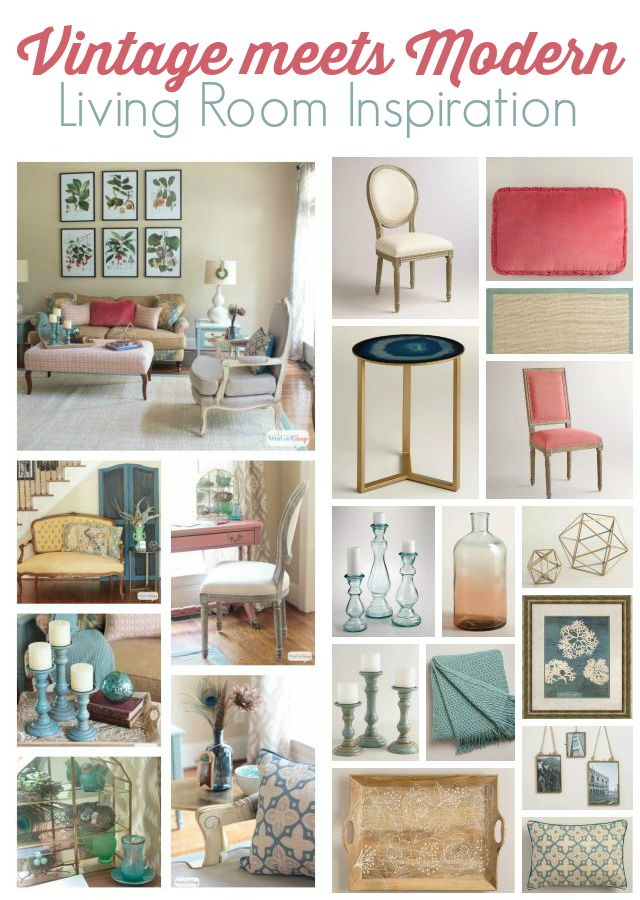 I Love The Vibrant Colors Mix Of Vintage And