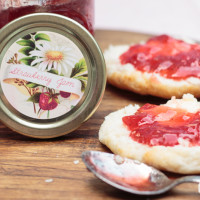 Strawberry Jam Recipe at Made From Pinterest