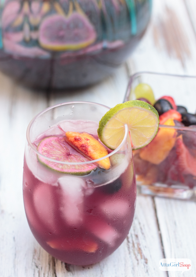 This red wine sangria recipe is just the thing to keep you cool and refreshed on hot summer days. Pair your favorite wine with seasonal fruit and juices to customize this recipe.