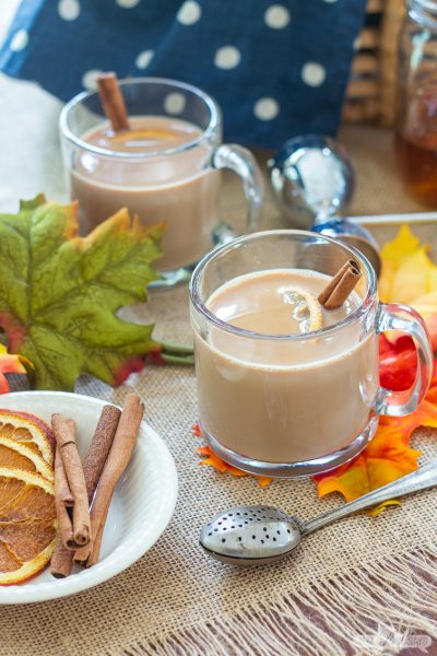 Spiked Chai Tea Latte