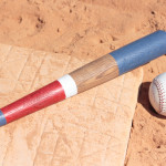 Custom painted wooden baseball bats can be super expensive. But this is such a simple DIY. I love it for a vintage baseball bedroom or for decorations at a little slugger's birthday party.