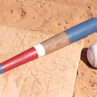 DIY Custom Painted Wooden Baseball Bats
