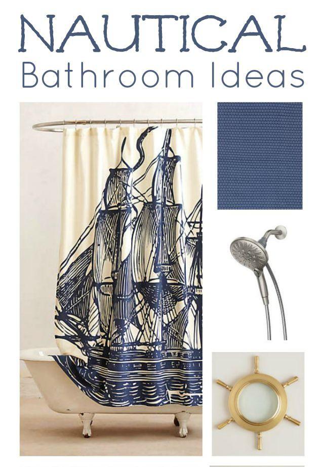 Nautical Bathroom Design Ideas ~ Nautical kids bathroom ideas