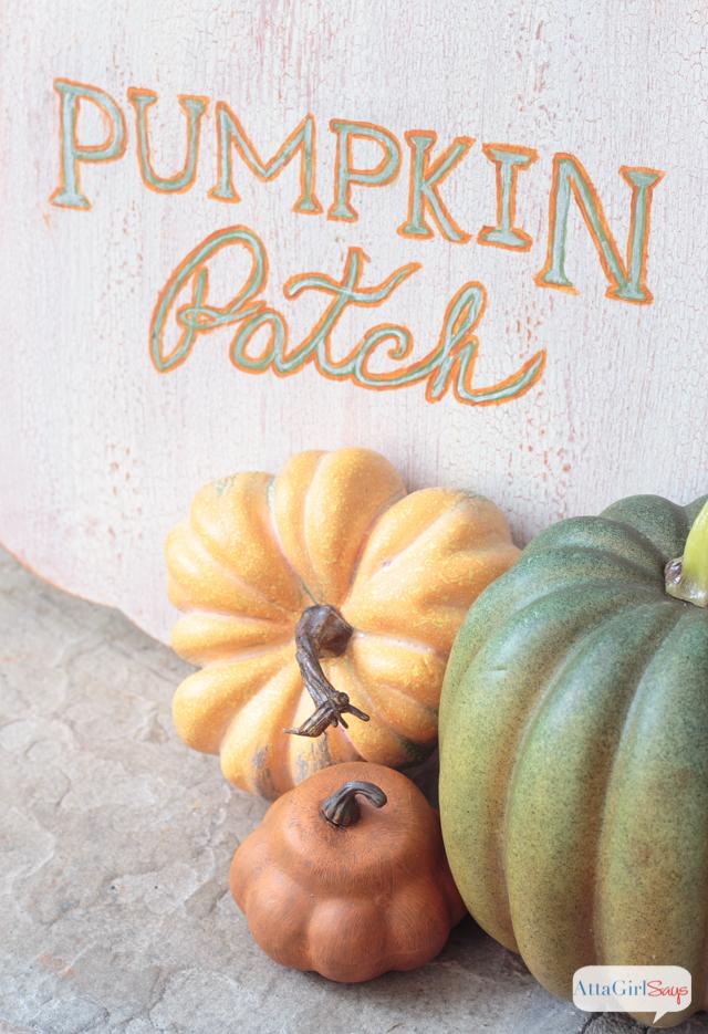 Handpainted Pumpkin Patch Sign