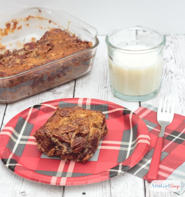 Chocolate Chip Pecan Pie Bars - Atta Girl Says