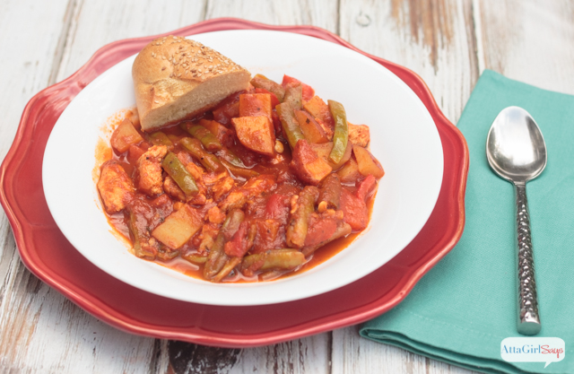 Craving Italian food, but not in the mood for pasta? This tangy Tuscan chicken stew is a hearty one-pot meal.