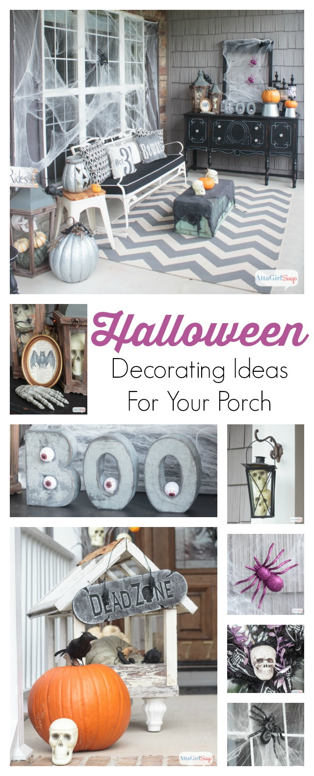 Pinnable Halloween Decorating Ideas For