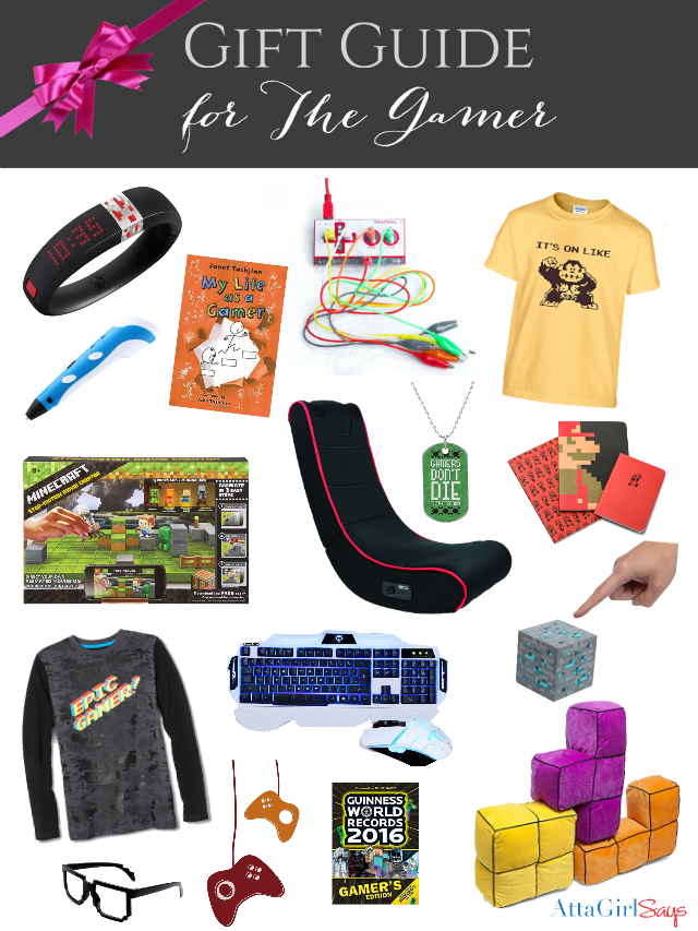 Ultimate List of Cool Gifts for Gamers - Atta Girl Says