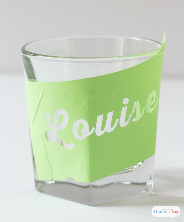 Toast your BFF with a set of personalized whiskey glasses engraved with the names of your favorite duo. Options include Thelma and Louise, Harry and Sally, Ross and Rachel, Bonnie and Clyde, Romeo and Juliet and Laverne and Shirley. This is such a simple DIY, and it's so affordable.
