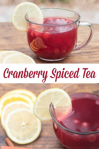 Cranberry Spiced Tea Recipe